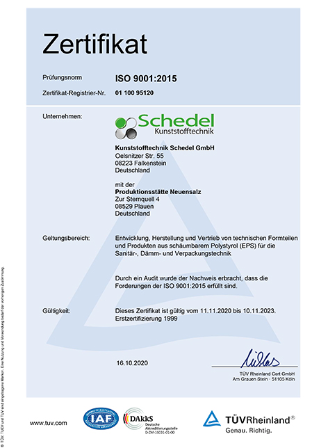 Zertifikat TUEV